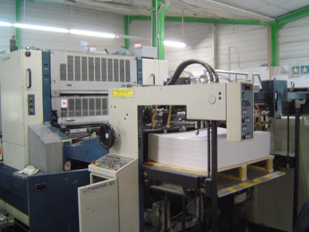首页 全部产品 二手小森印刷机 小森对开四色机 l-44098年日本小森l
